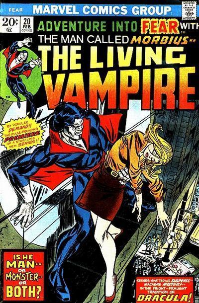 Morbius Marvel >> Best Bronze Age COMIC BOOK COVERS! Spider-Man! Morbius