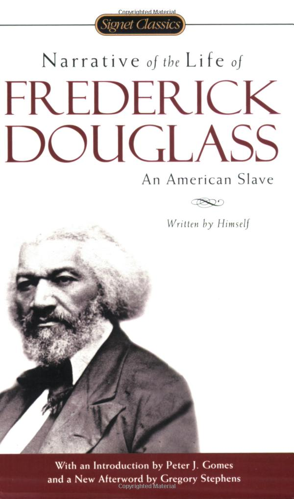 thesis on frederick douglas In learning to read and write by frederick douglass, douglass describes the hardships of his life even though my life experiences are different from.