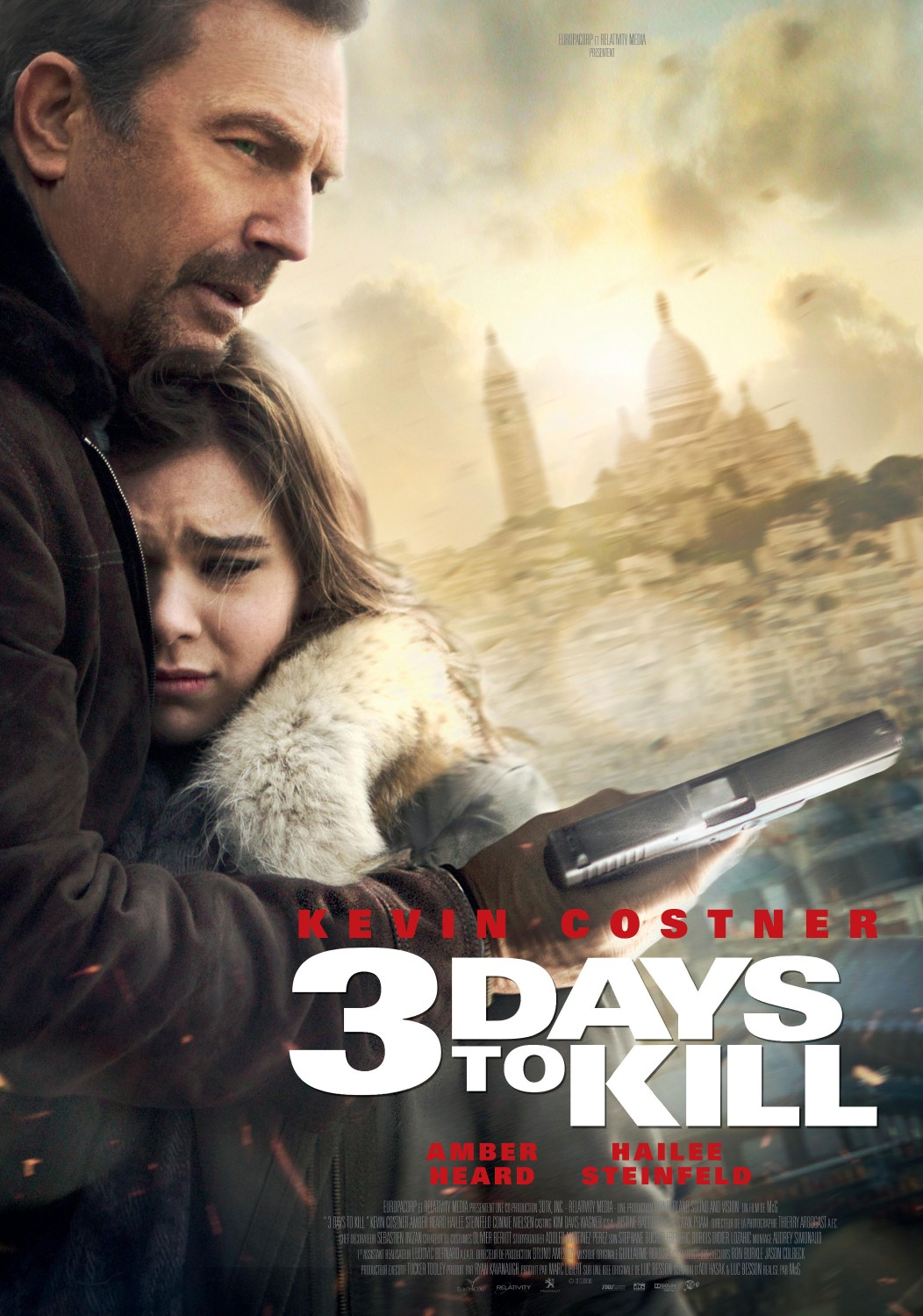 movie of the day streaming and blu ray 3 days to kill heroic times. Black Bedroom Furniture Sets. Home Design Ideas
